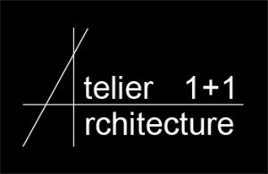 Logo Atelier 1+1 Architecture - Contact